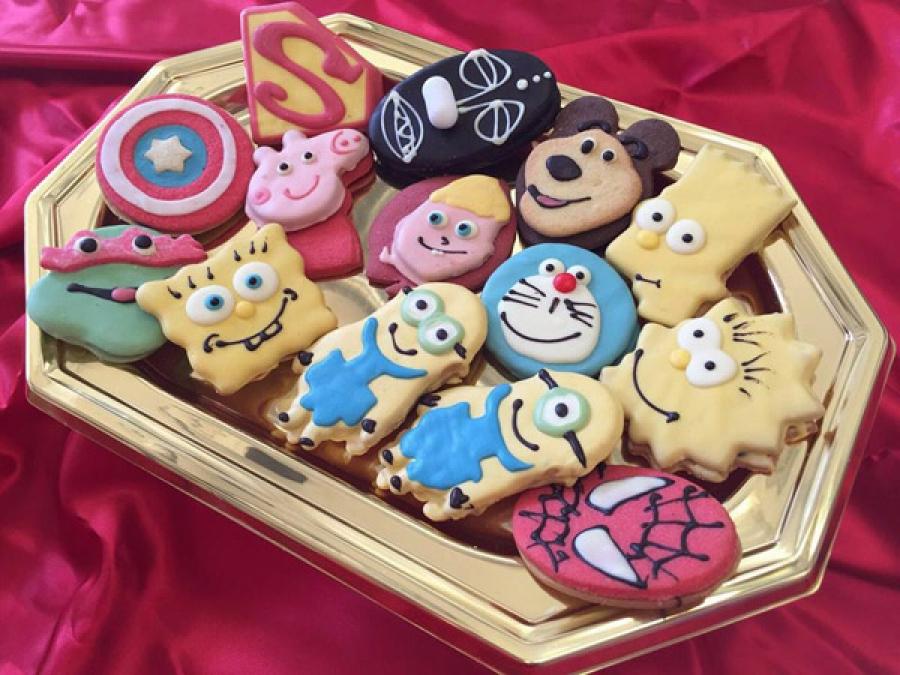 Biscotti A Tema Catering Animazione E Feste Di Compleanno Per